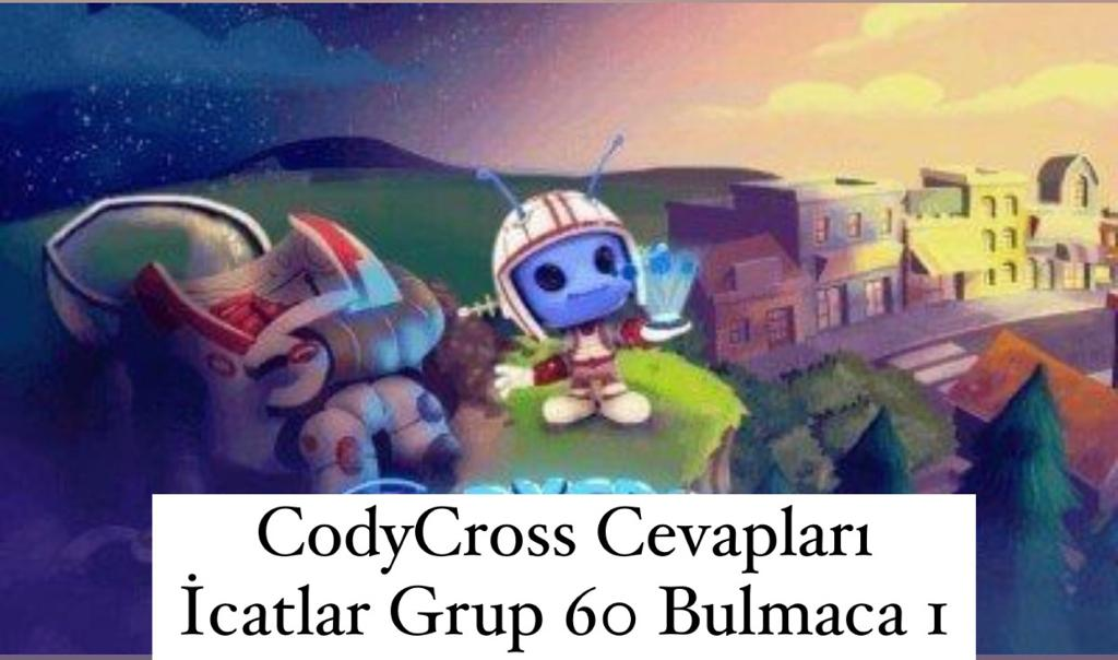 CodyCross Cevapları İcatlar Grup 60 Bulamaca 1 (Kelime Bulmaca Oyunu)