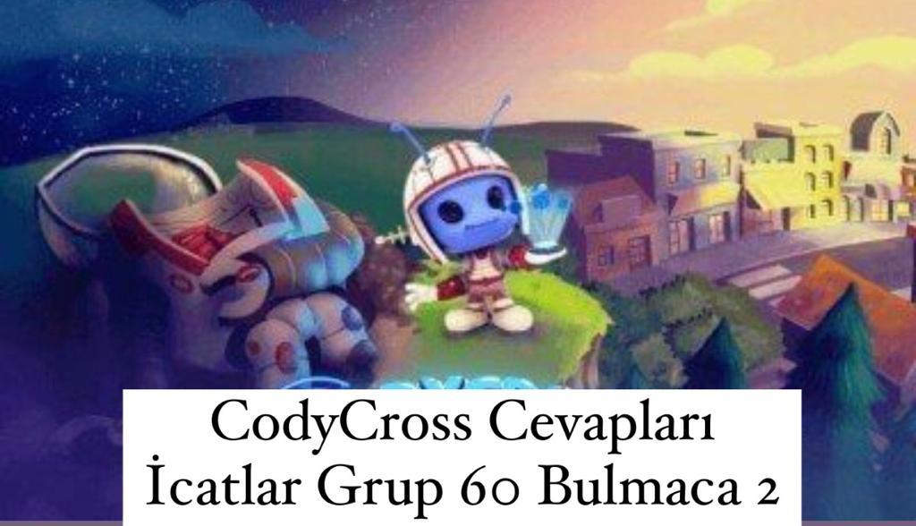 CodyCross Cevapları İcatlar Grup 60 Bulamaca 2 (Kelime Bulmaca Oyunu)