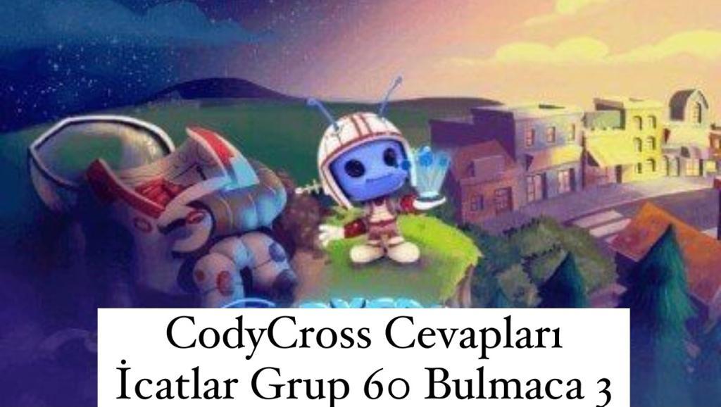 CodyCross Cevapları İcatlar Grup 60 Bulamaca 3 (Kelime Bulmaca Oyunu)