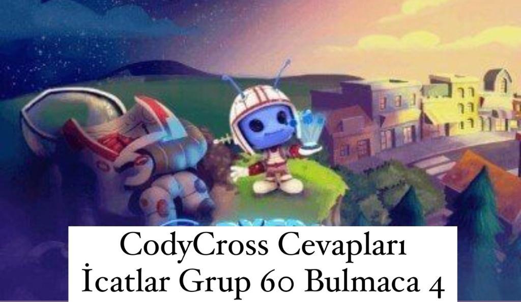 CodyCross Cevapları İcatlar Grup 60 Bulamaca 4 (Kelime Bulmaca Oyunu)
