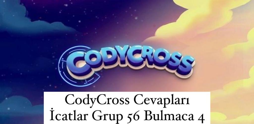 CodyCross Cevapları İcatlar Grup 56 Bulamaca 4 (Kelime Bulmaca Oyunu)