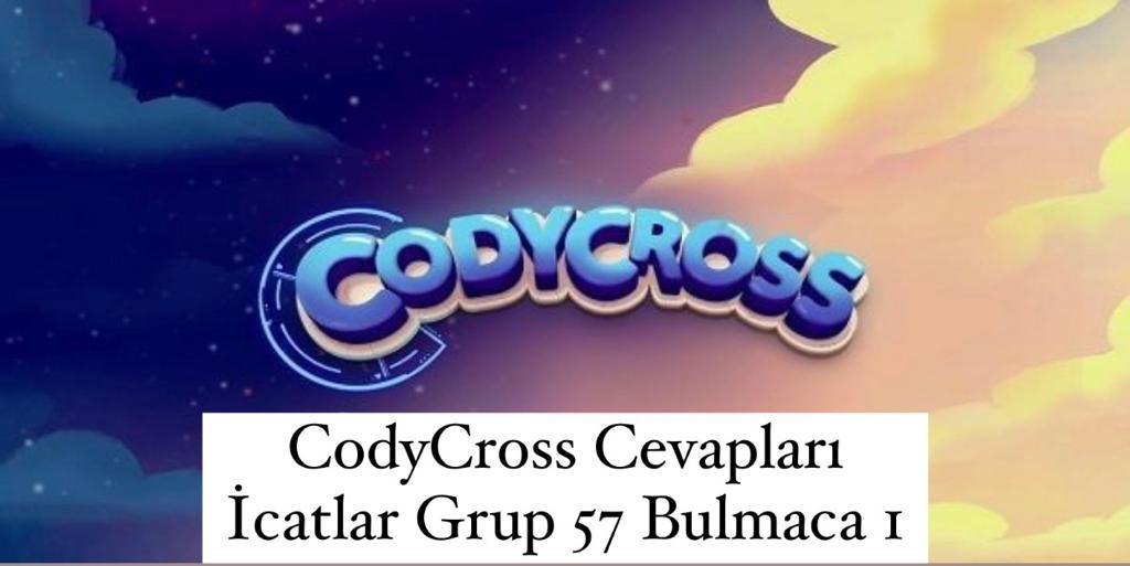 CodyCross Cevapları İcatlar Grup 57 Bulamaca 2 (Kelime Bulmaca Oyunu)