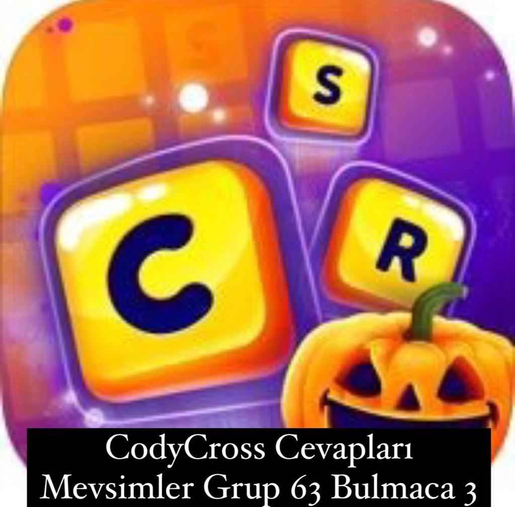 CodyCross Cevapları Mevsimler Grup 63 Bulamaca 2 (Kelime Bulmaca Oyunu)