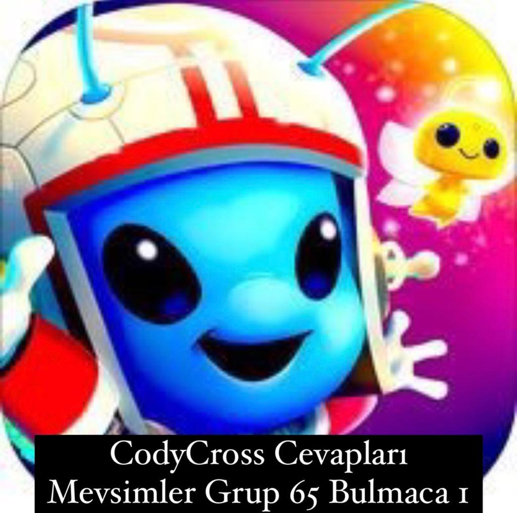 CodyCross Cevapları Mevsimler Grup 65 Bulamaca 1 (Kelime Bulmaca Oyunu)