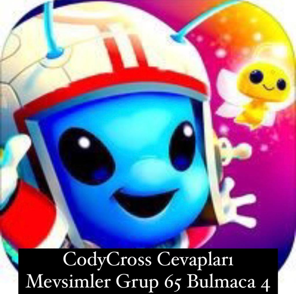 CodyCross Cevapları Mevsimler Grup 65 Bulamaca 2 (Kelime Bulmaca Oyunu)