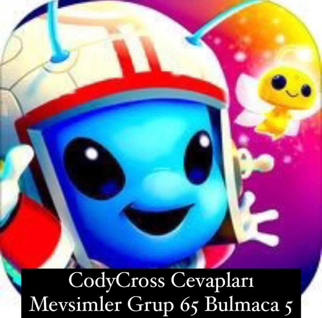 CodyCross Cevapları Mevsimler Grup 65 Bulamaca 5 (Kelime Bulmaca Oyunu)