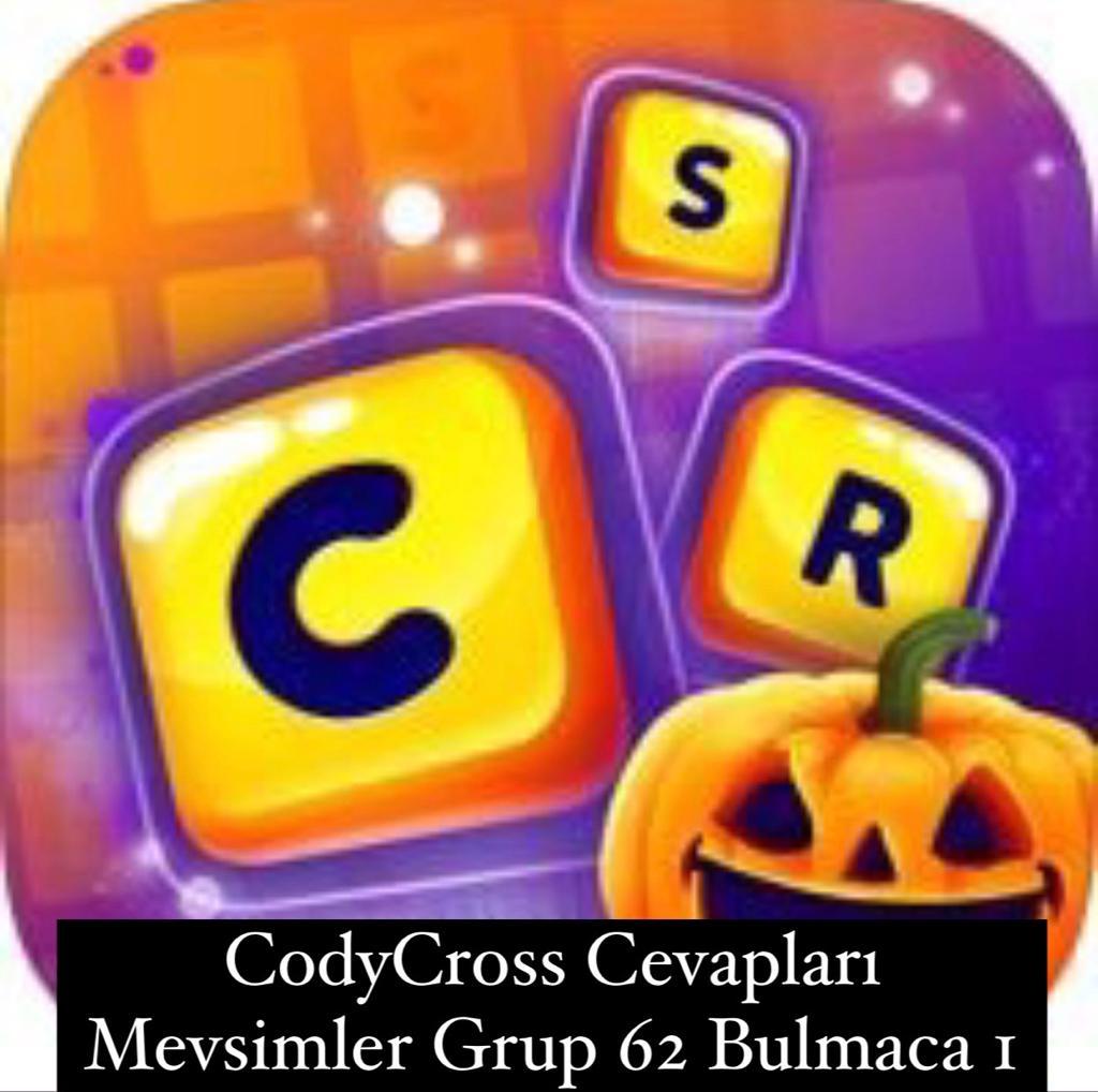 CodyCross Cevapları Mevsimler Grup 62 Bulamaca 2 (Kelime Bulmaca Oyunu)