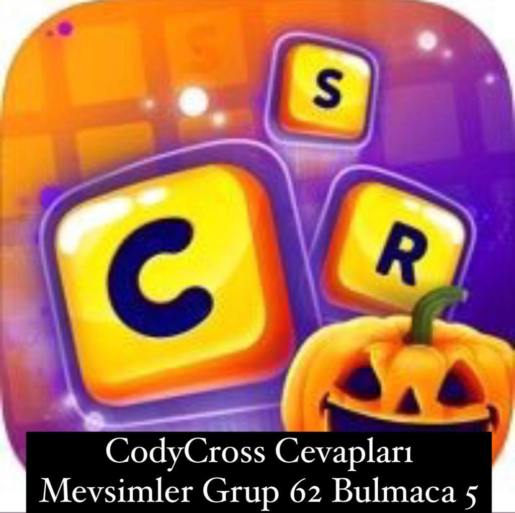 CodyCross Cevapları Mevsimler Grup 62 Bulamaca 5 (Kelime Bulmaca Oyunu)