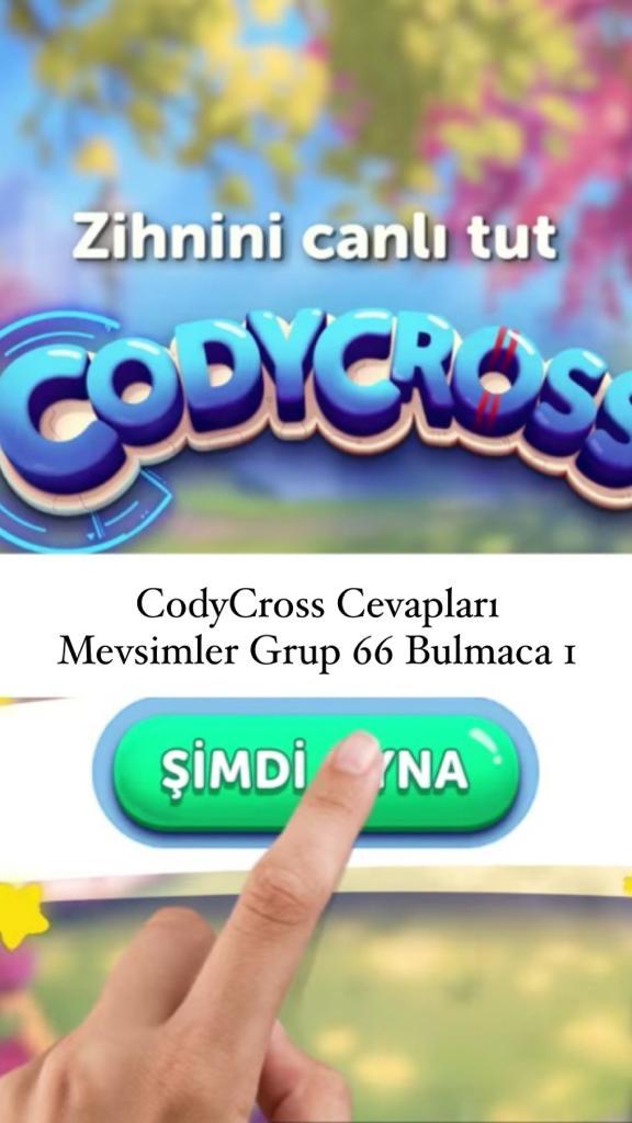 CodyCross Cevapları Mevsimler Grup 66 Bulamaca 2 (Kelime Bulmaca Oyunu)