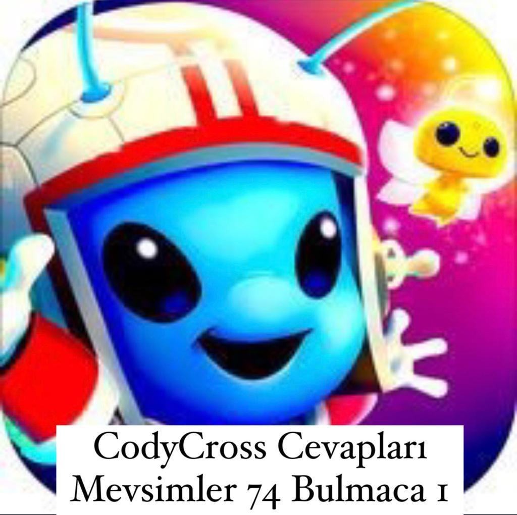 CodyCross Cevapları Mevsimler Grup 74 Bulamaca 1 (Kelime Bulmaca Oyunu)