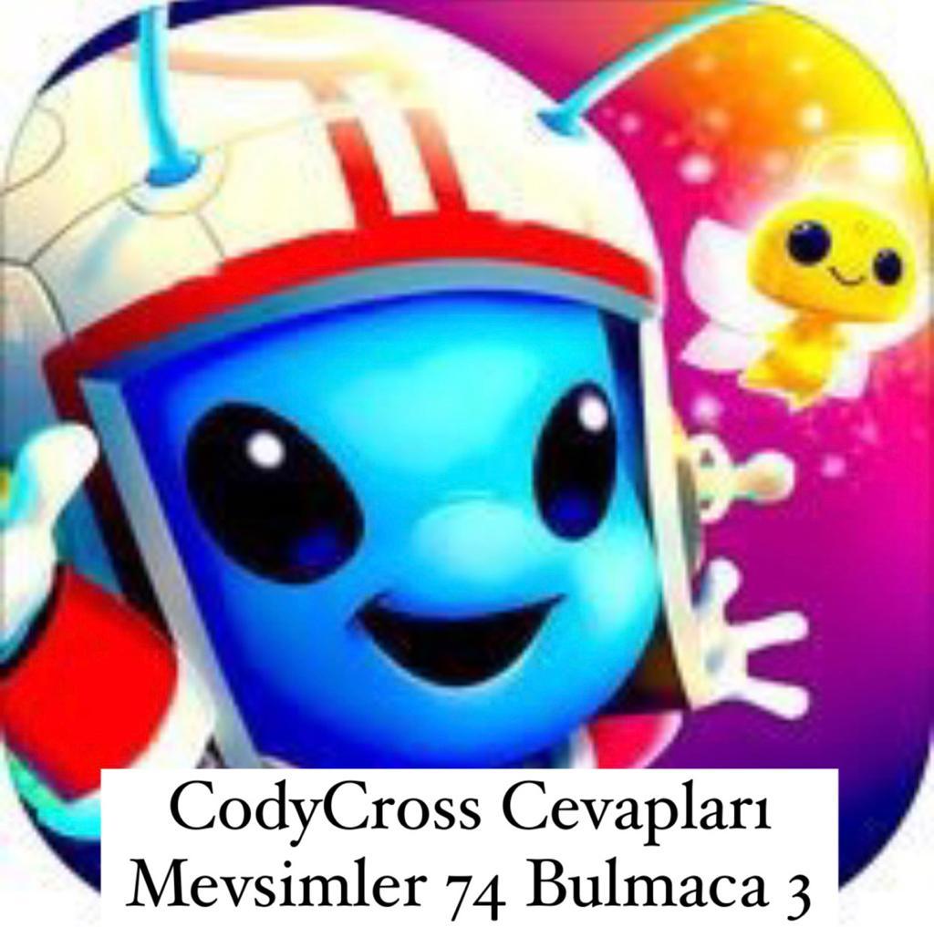 CodyCross Cevapları Mevsimler Grup 74 Bulamaca 3 (Kelime Bulmaca Oyunu)