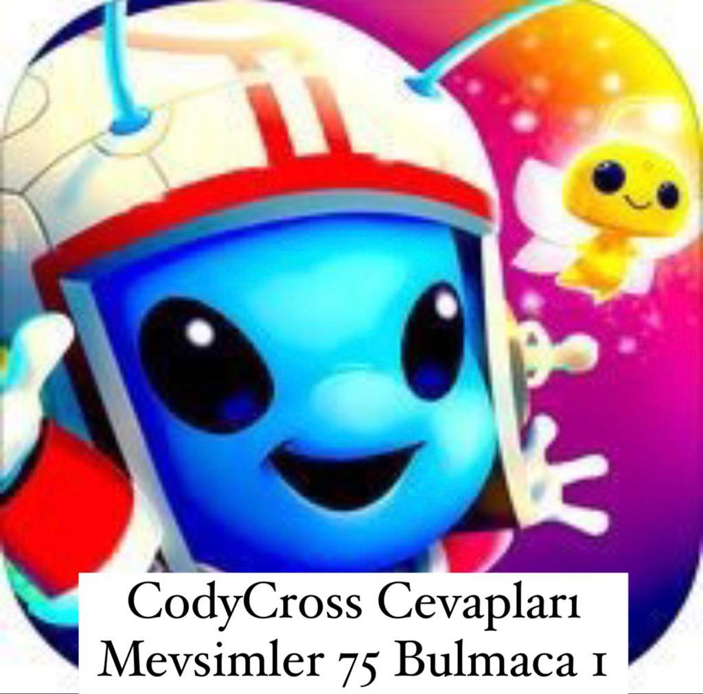 CodyCross Cevapları Mevsimler Grup 75 Bulamaca 1 (Kelime Bulmaca Oyunu)