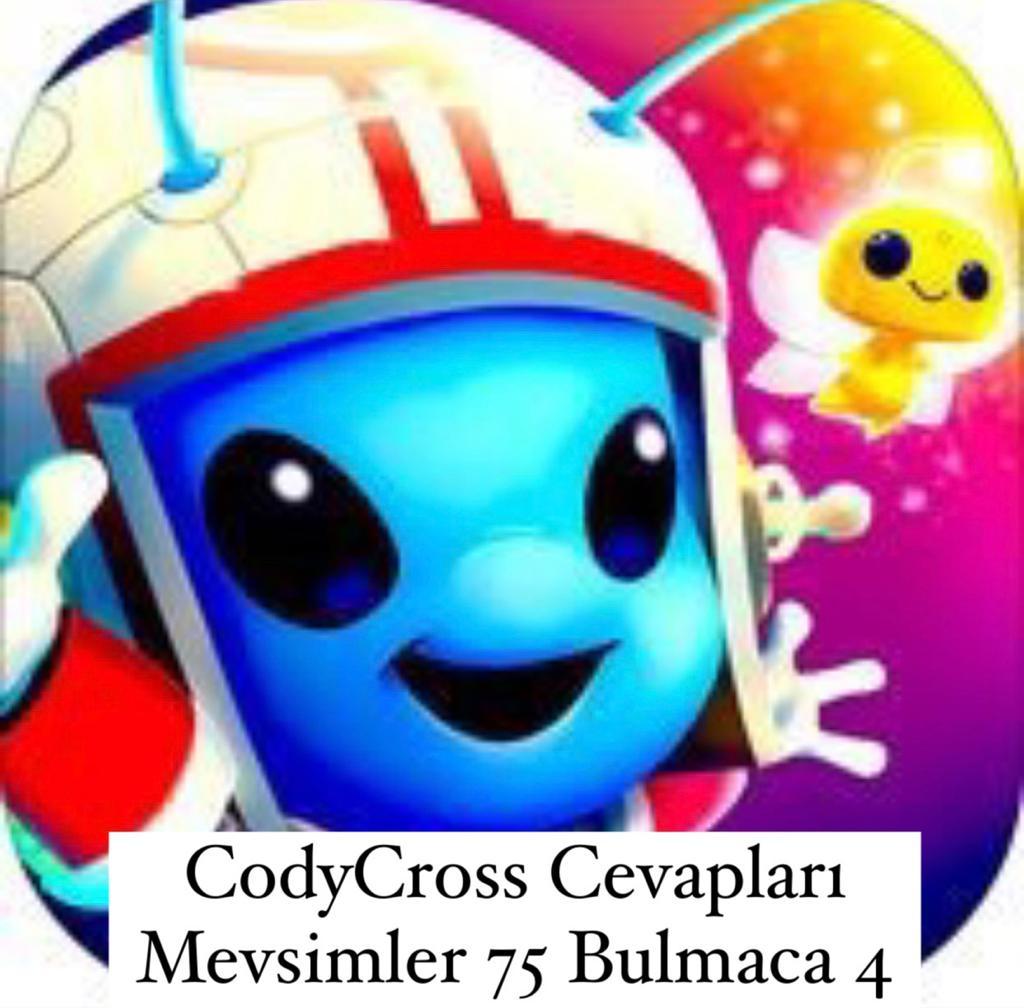 CodyCross Cevapları Mevsimler Grup 75 Bulamaca 4 (Kelime Bulmaca Oyunu)