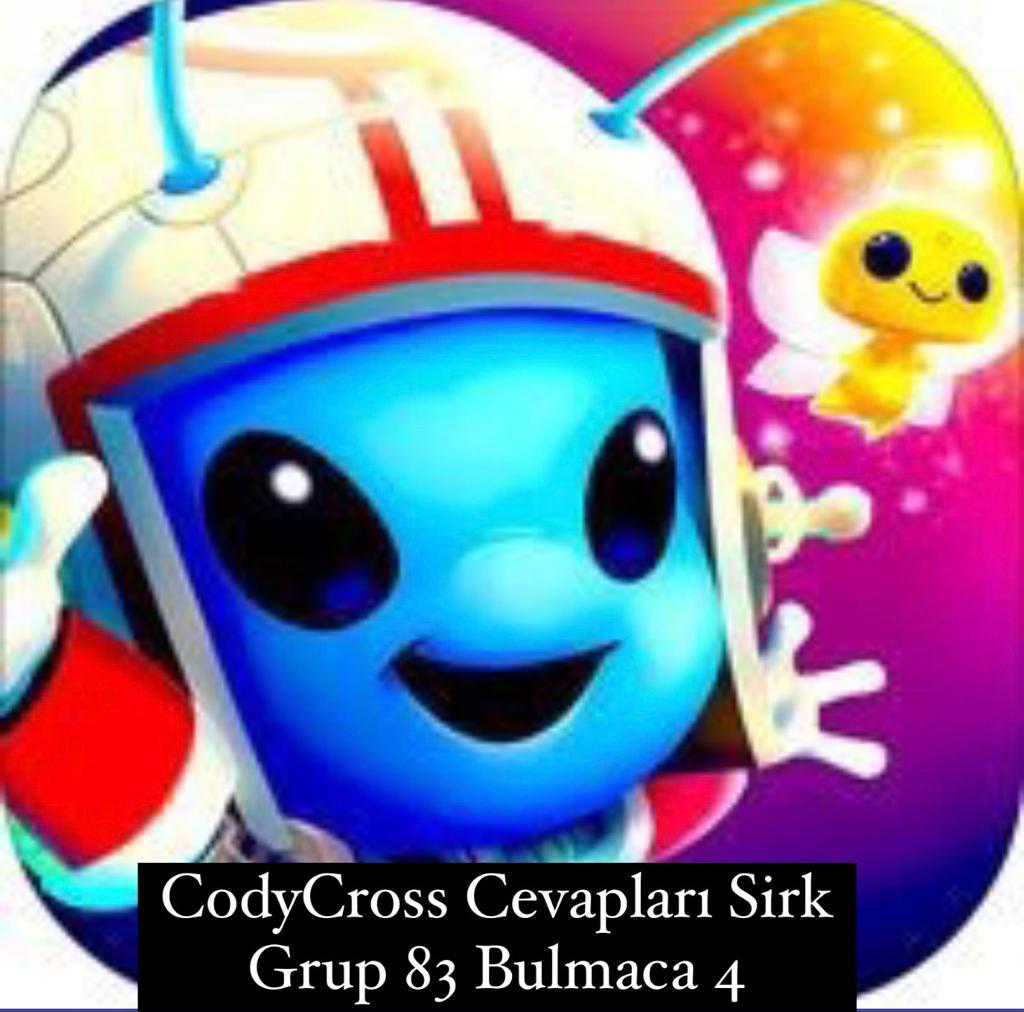CodyCross Cevapları Sirk Grup 83 Bulamaca 4 (Kelime Bulmaca Oyunu)