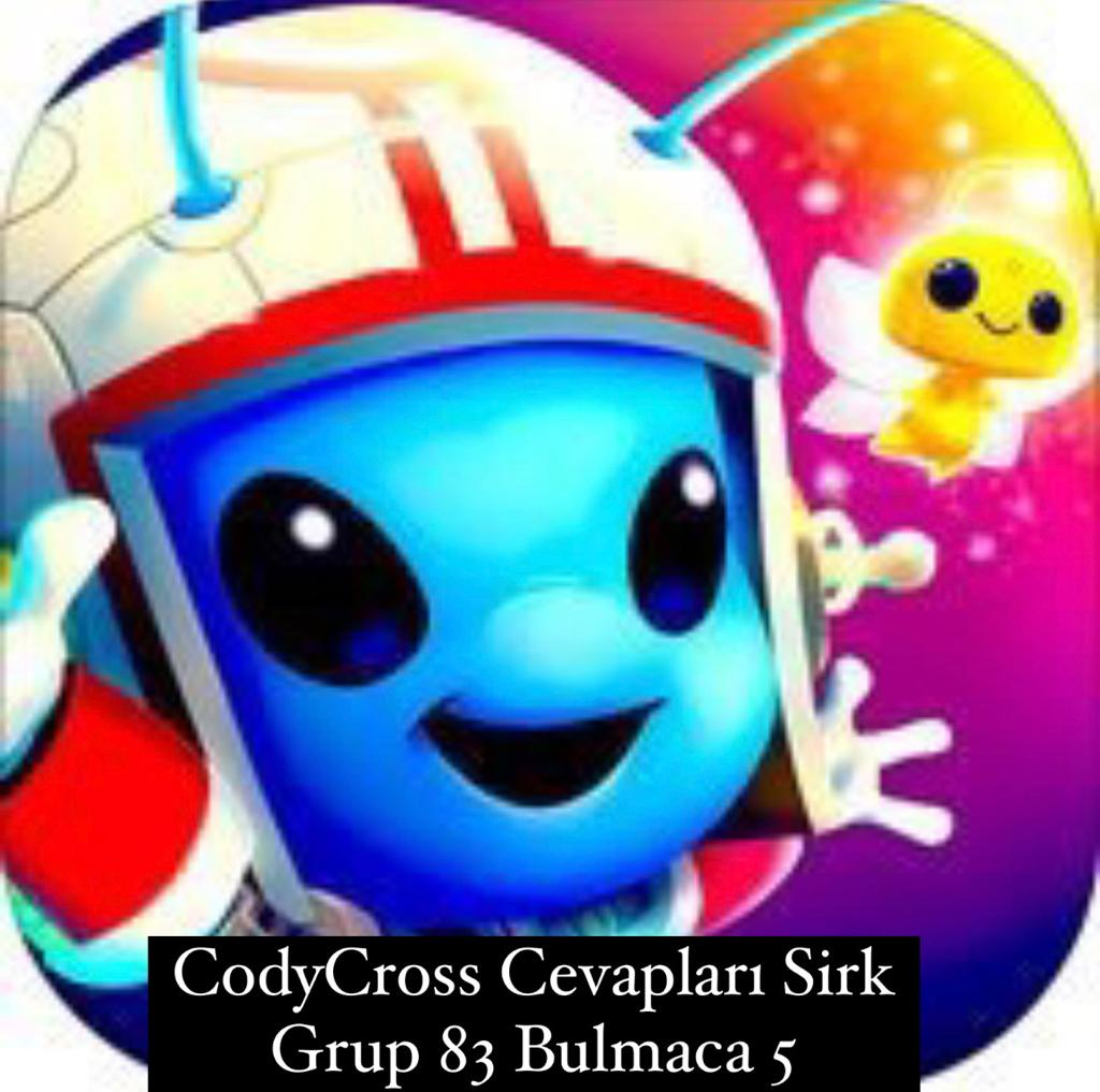 CodyCross Cevapları Sirk Grup 83 Bulamaca 5 (Kelime Bulmaca Oyunu)