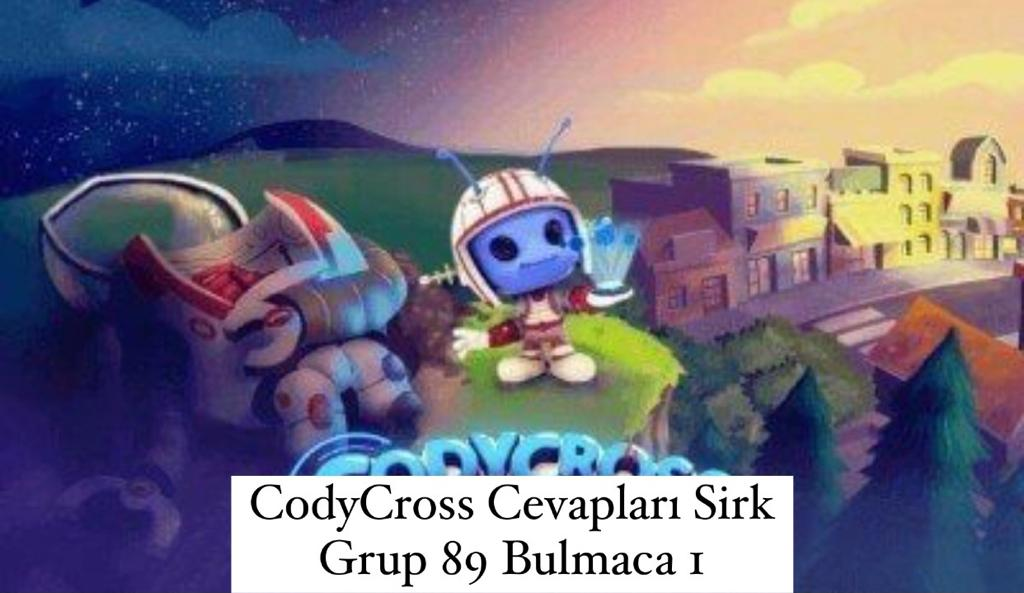 CodyCross Cevapları Sirk Grup 89 Bulamaca 2 (Kelime Bulmaca Oyunu)