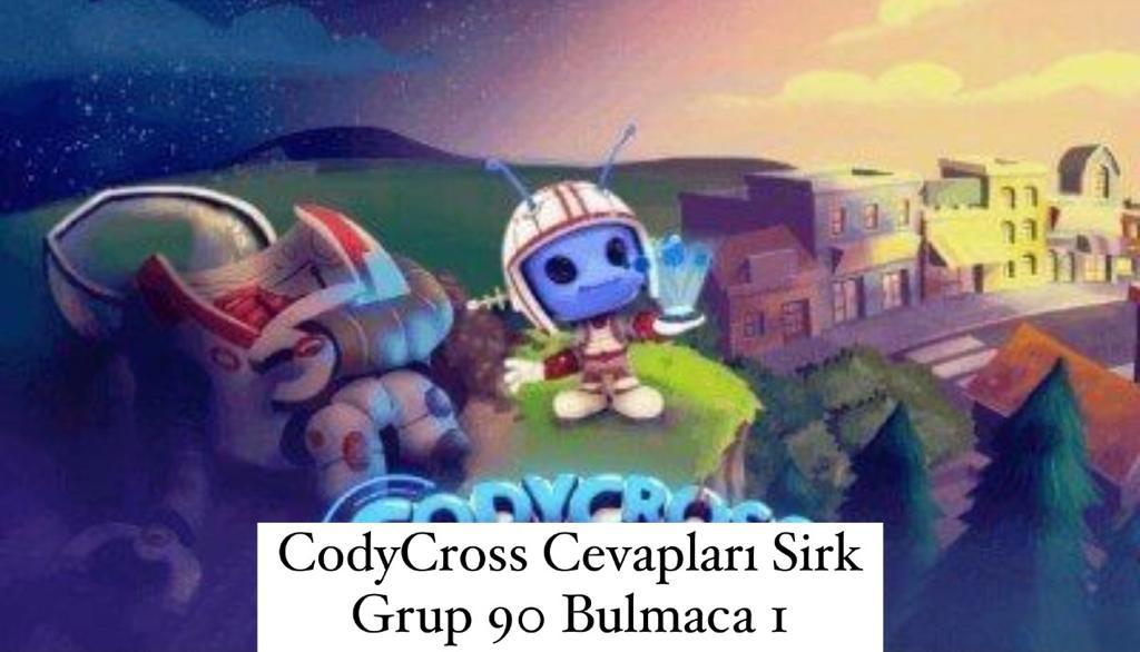 CodyCross Cevapları Sirk Grup 90 Bulamaca 1 (Kelime Bulmaca Oyunu)