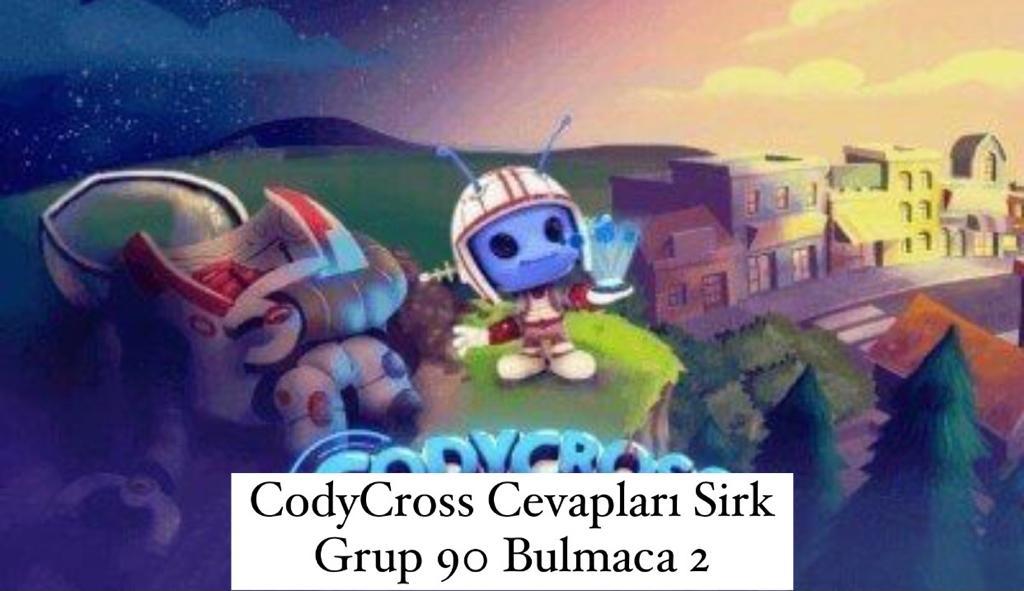 CodyCross Cevapları Sirk Grup 90 Bulamaca 2 (Kelime Bulmaca Oyunu)
