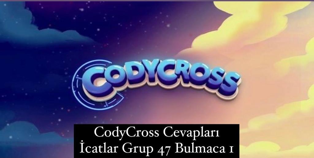 CodyCross Cevapları İcatlar Grup 47 Bulamaca 5 (Kelime Bulmaca Oyunu)