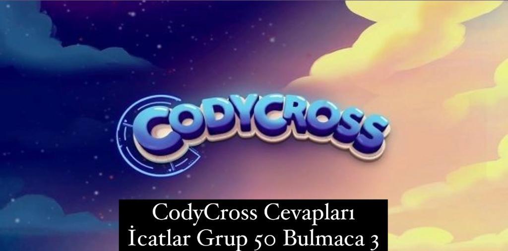 CodyCross Cevapları İcatlar Grup 50 Bulamaca 2 (Kelime Bulmaca Oyunu)