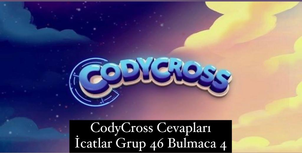 CodyCross Cevapları İcatlar Grup 46 Bulamaca 4 (Kelime Bulmaca Oyunu)