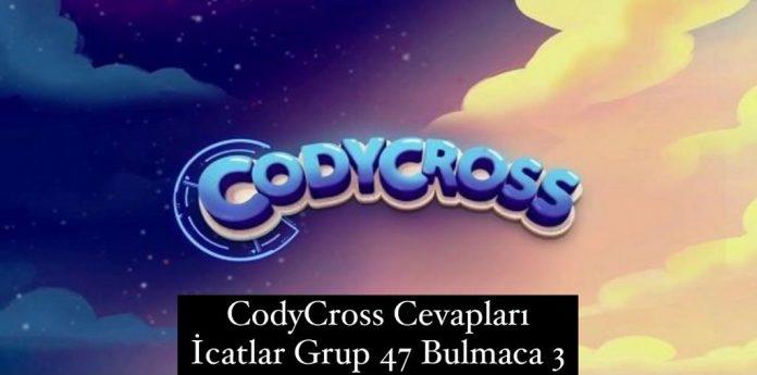 CodyCross Cevapları İcatlar Grup 47 Bulamaca 2 (Kelime Bulmaca Oyunu)