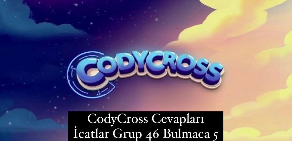 CodyCross Cevapları İcatlar Grup 46 Bulamaca 5 (Kelime Bulmaca Oyunu)