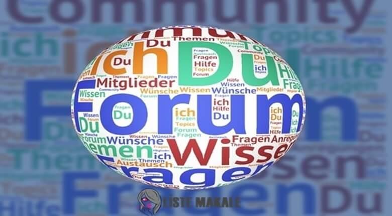 Forum Nedir, Forum Özellikleri Nelerdir?